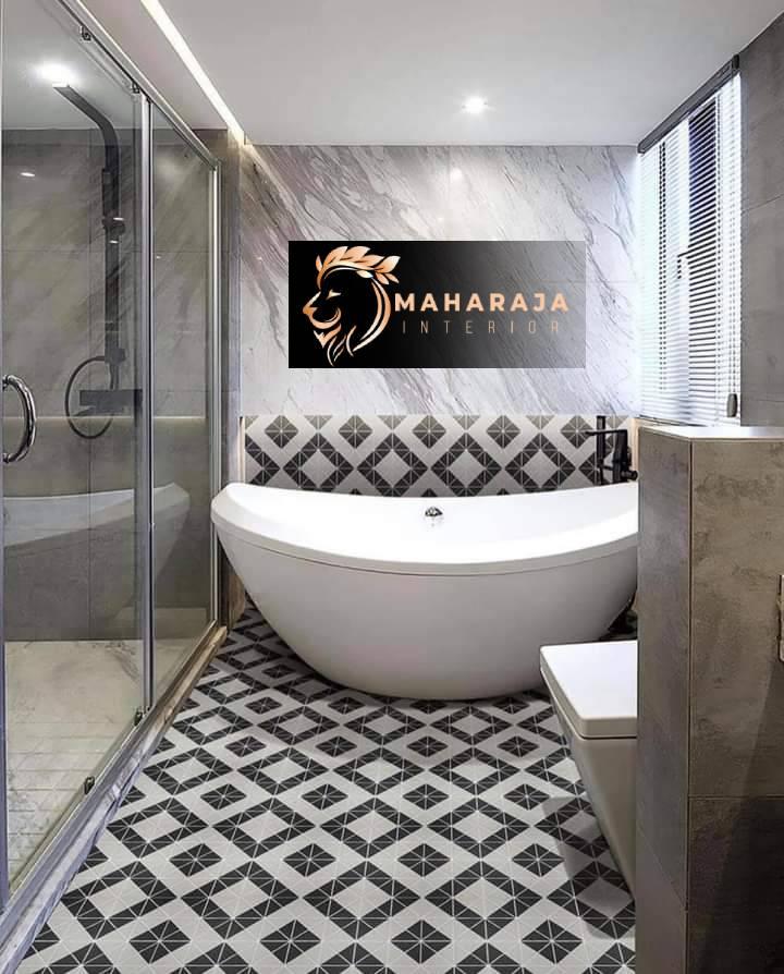 Eco-accommodating Bathroom Flooring Interior Designs